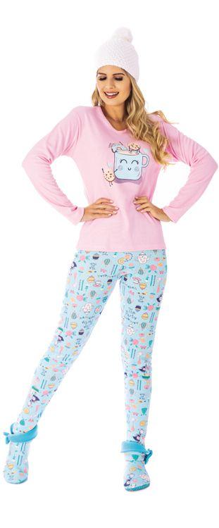 Pijama Canelado de Inverno-Victory 20101