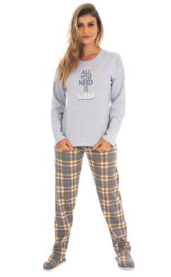 Pijama de Inverno Canelado  Victory - Ref 21123