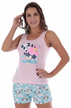 Pijama de Verão Short Dool Regata Bella  Victory - Ref 22003