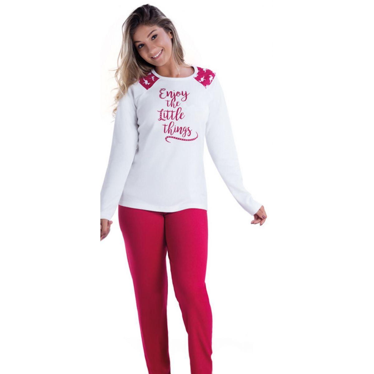 Pijama Feminino Inverno Adulto - Victory 17100