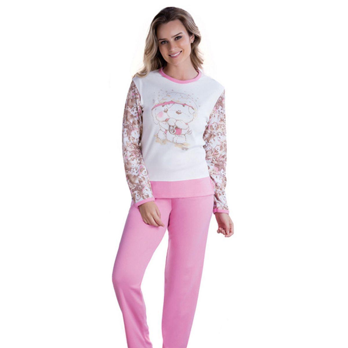 Pijama Feminino Inverno Adulto - Victory 17111