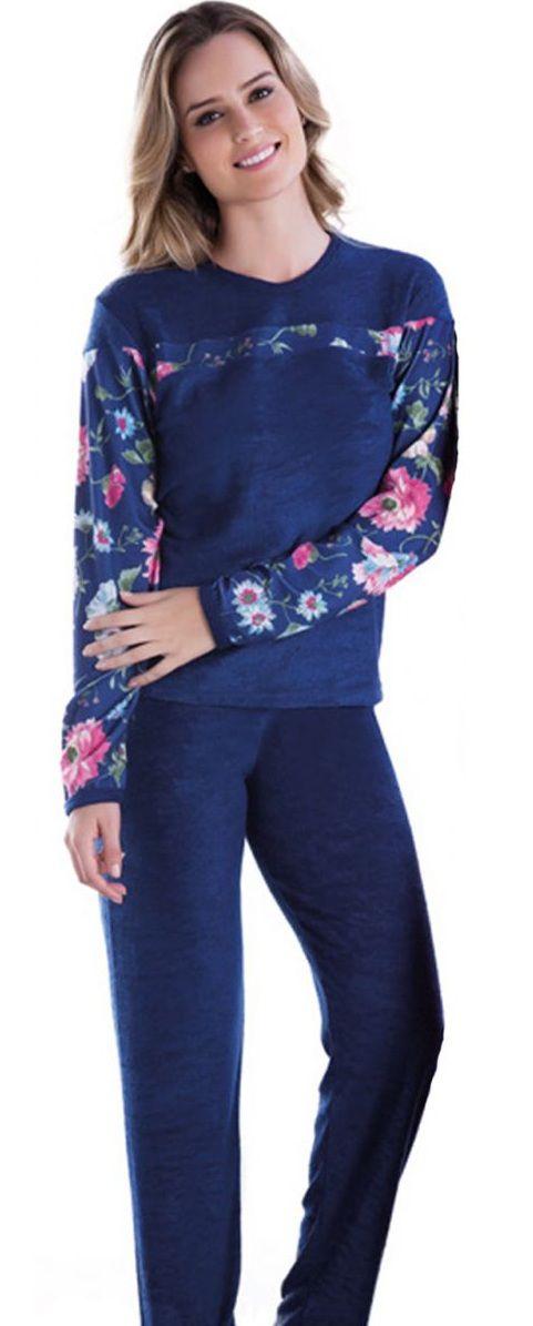 Pijama Feminino Inverno Adulto - Victory 17116