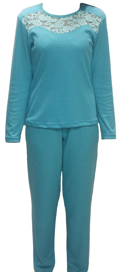 Pijama feminino inverno renda adulto Victory ref. 17102