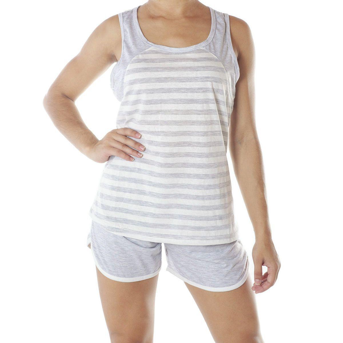 Pijama Feminino Short Doll Nadador - Victory 20010