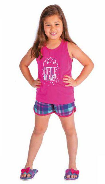 Pijama Infantil Short Doll Nadador - Victory 20061