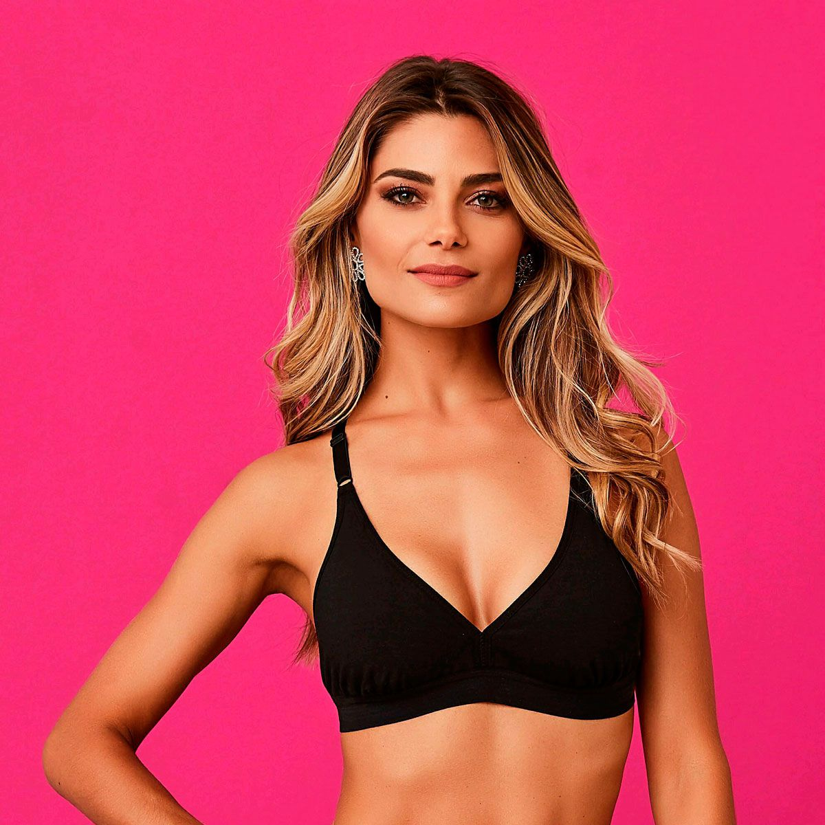 Top Fitness Sem Bojo Algodão - Diva Donna 262