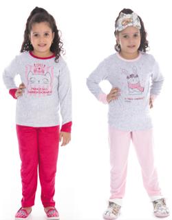 Victory-Ref:21152 Pijama Infantil De Inverno Plush