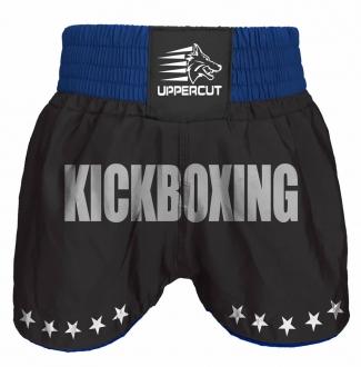 Calção Short Kickboxing  GP Stars -  Preto/Azul