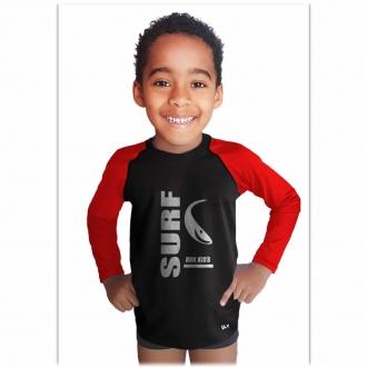 Camisa com Proteção Solar UV-50+ - Surf - Infantil Run Kids