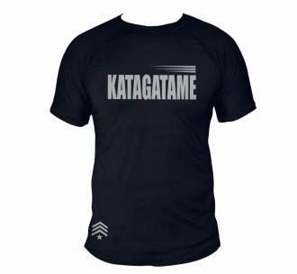 Camisa Jiu Jitsu Katagatame - Dry Fit UV50+ - Preta