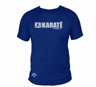 Camisa Karate HZT Treino - Dry Fit UV50+ Azul
