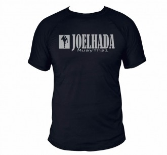 Camisa Muay Thai Joelhada Dry Fit UV50+ Preta - Uppercut