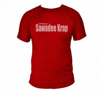 Camisa Muay Thai Sawadee Karap - Dry Fit UV-50+ - Vermelha
