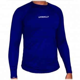 Camisa Proteção Solar UV 50+ ML - Praia Piscina Lisa - Azul