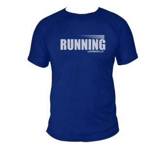 Camisa Running Corrida - Dry Fit UV50+ Azul - Uppercut