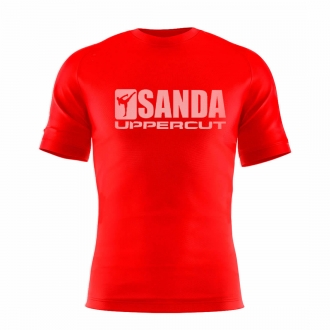 Camisa Sanda Boxe Chines Dry Fit UV50+ Vermelha - Uppercut