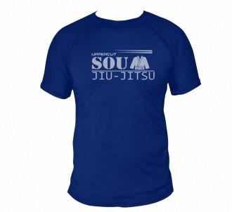Camisa Sou Jiu Jitsu - Dry Fit UV-50+ - Azul - Uppercut