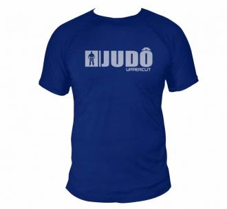 Camiseta Judo HZT Treino e Passeio Dry Fit UV50+ - Azul