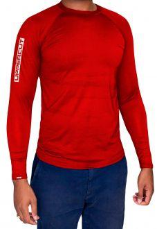Camisa Proteção Solar U-013 ML - Praia UV50+ - Vermelha