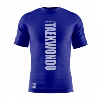 Camiseta Taekwondo Dry Fit UV50+ Azul - Uppercut