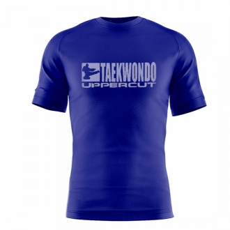 Camiseta Taekwondo HZT Dry Fit UV50+ Azul - Uppercut