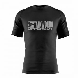 Camiseta Taekwondo HZT Dry Fit UV50+ Preta - Uppercut