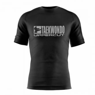 Camiseta Taekwondo HZT Dry Fit UV50+ Preta - Uppercut