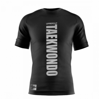 Camiseta Taekwondo Vertical Dry Fit UV-50+ - Preta