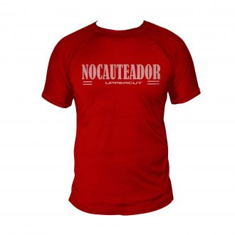 Camiseta Nocateador Muay Kick Boxe - Dry Fit UV-50+ - Verm