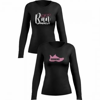 Kit 2 Camisas UV-50+ - Corrida Running Feminina - Kt09