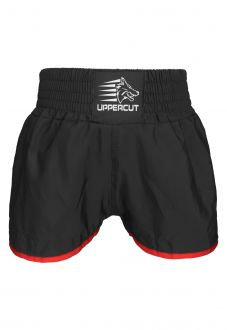 Calção Short Muay Thai Kickboxing Black - sem silk - Preto