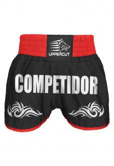 Short Uppercut Muay Thai Kickboxing Competitor