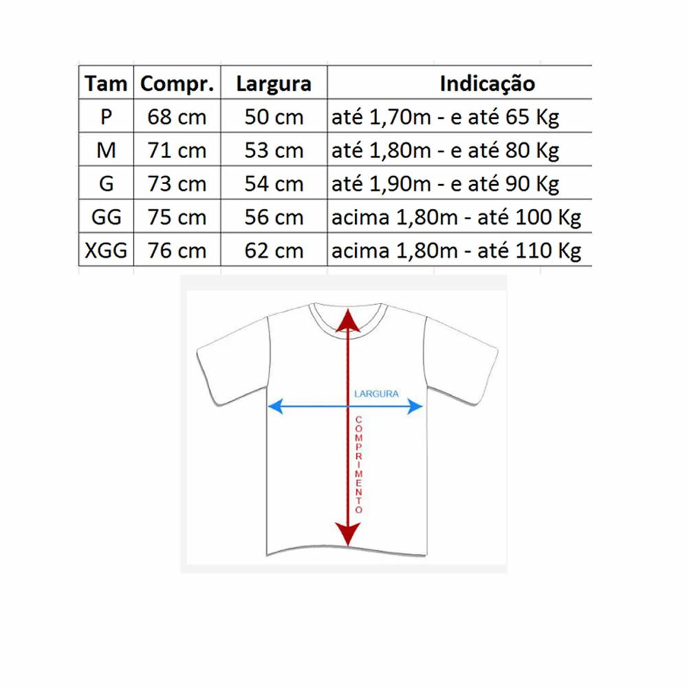 Kit 2 Camisas Dry Fit MC - UV50+ - Jiu Jitsu - Kt53