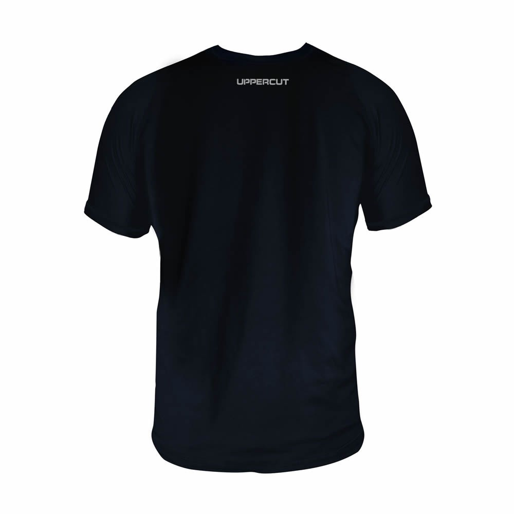 Camisa Capoeira HZT Treino - Dry Fit UV50+ - Preta