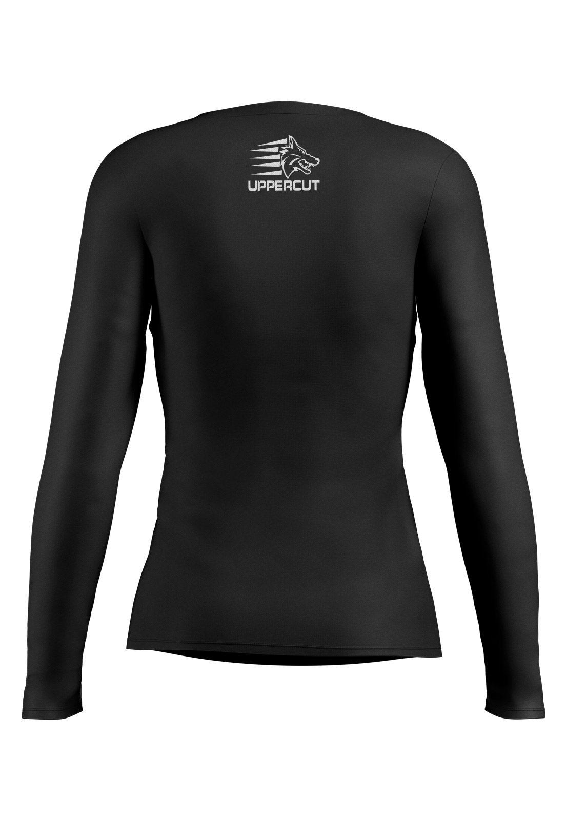 Camisa Corrida Térmica Lady Proteção Solar Uppercut