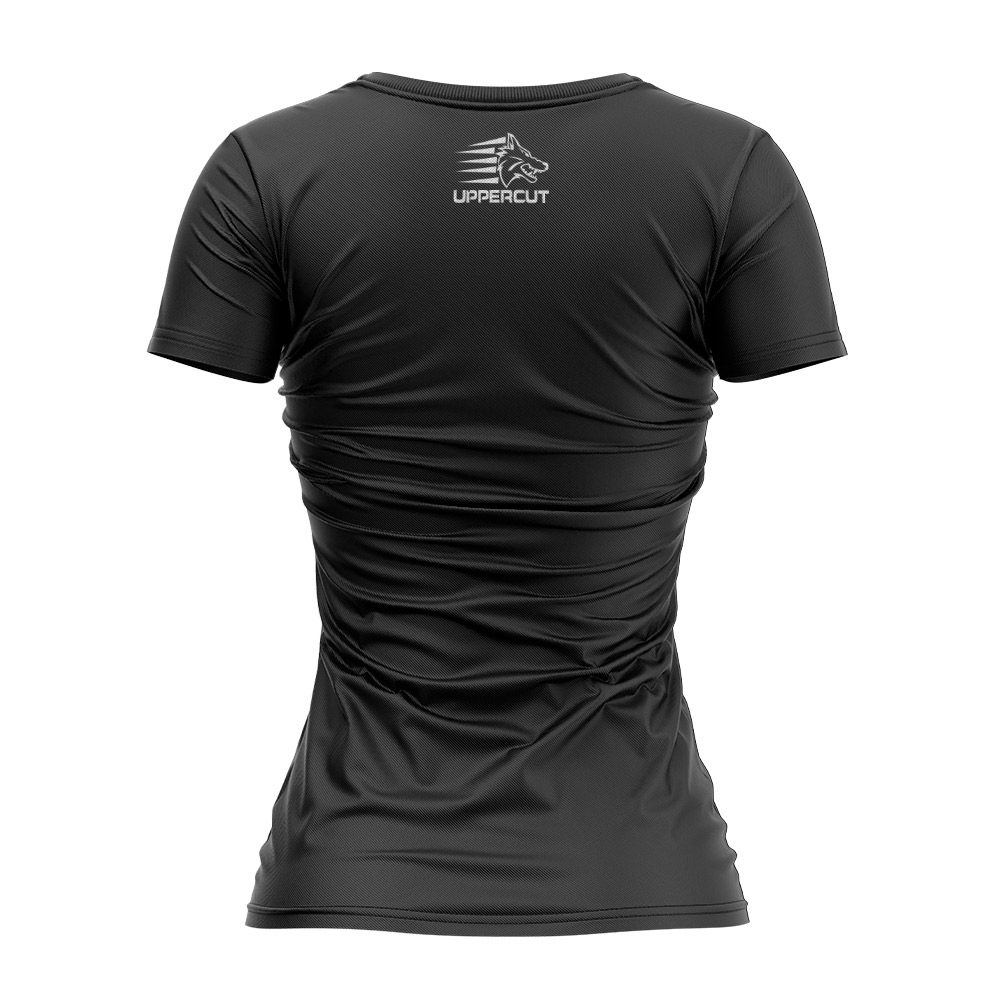 Camisa Dry Fit - Jiu Jitsu VTC Caveira War - UV-50+ Feminina