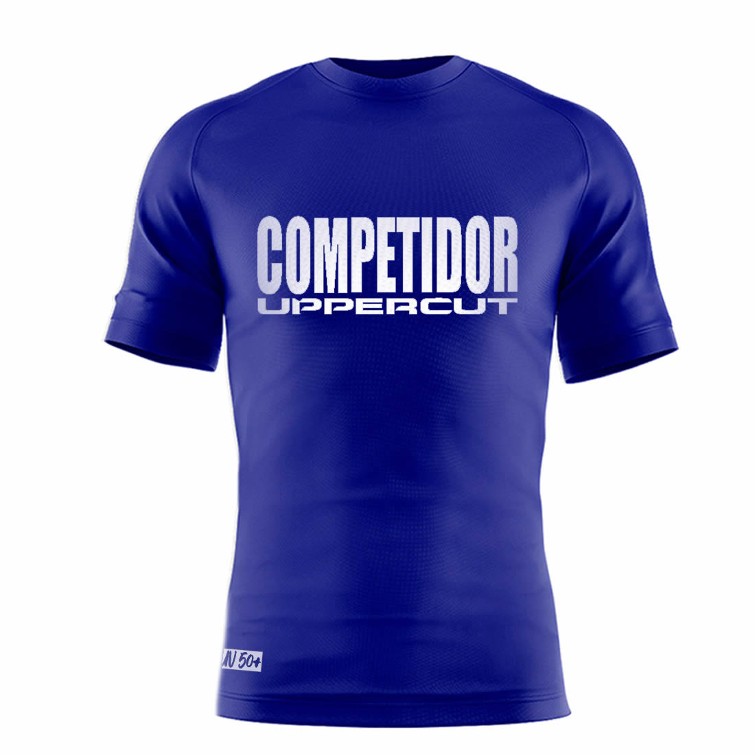 Camisa Esportiva Competidor - Dry Fit UV50+ - Azul