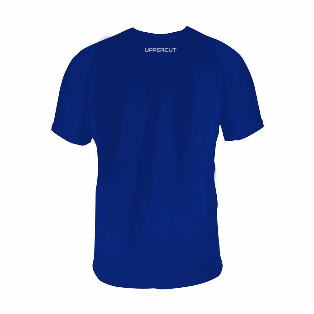 Camisa Jiu Jitsu Caveira War - Dry Fit UV-50+ - Azul