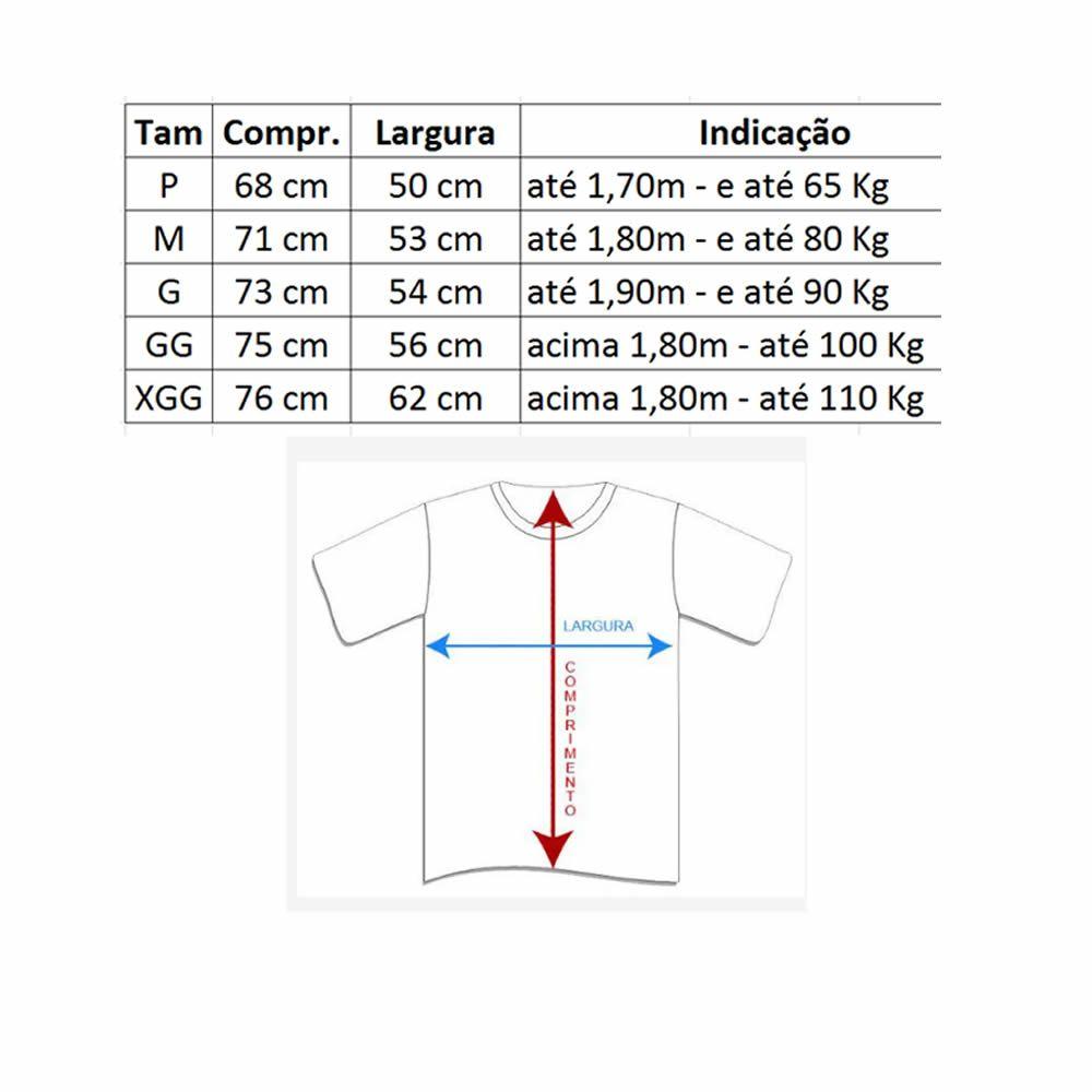 Camisa Jiu Jitsu Vertical Treino - Dry Fit UV-50+ - Azul