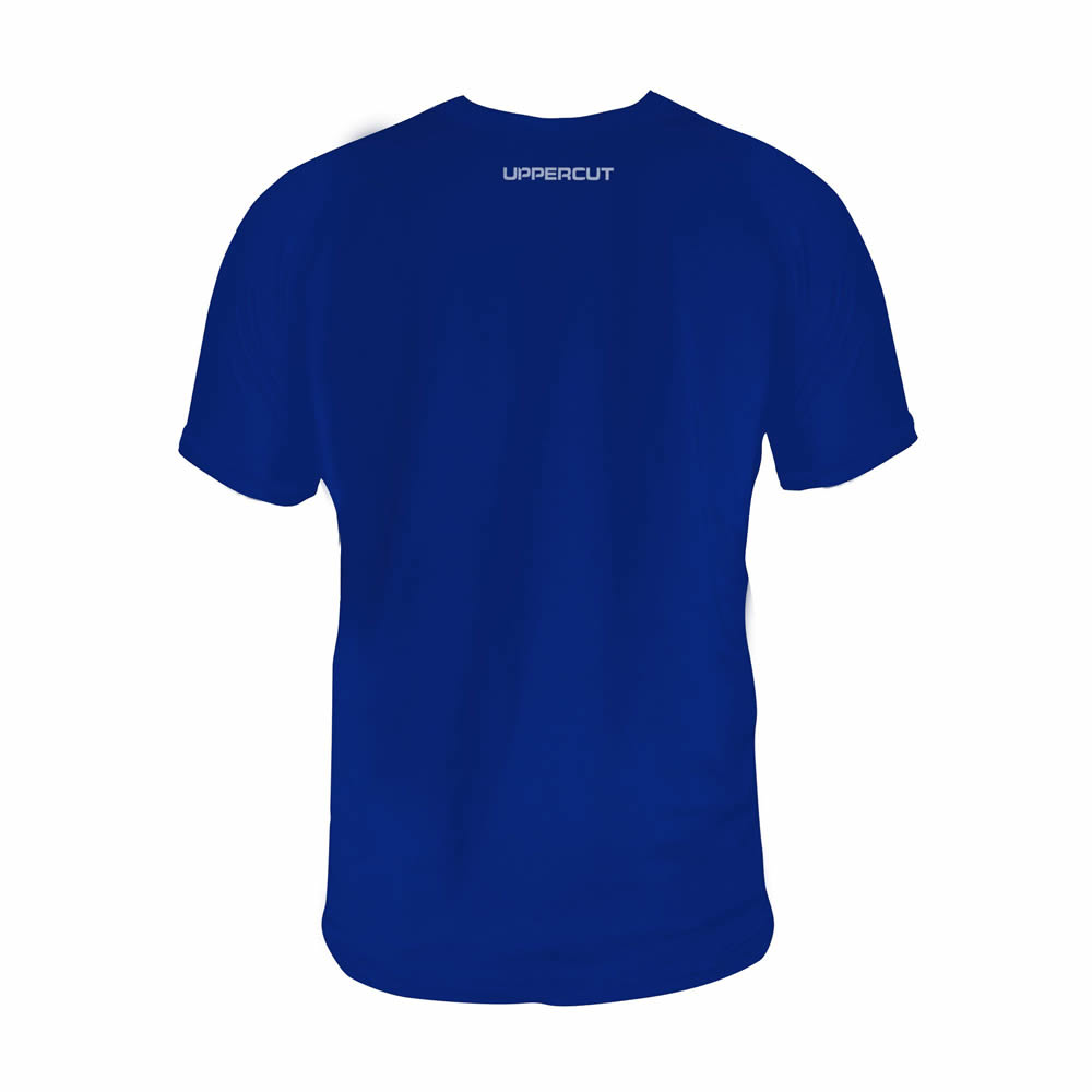 Camisa Kickboxing HZT Treino - Dry Fit UV50+ - Azul