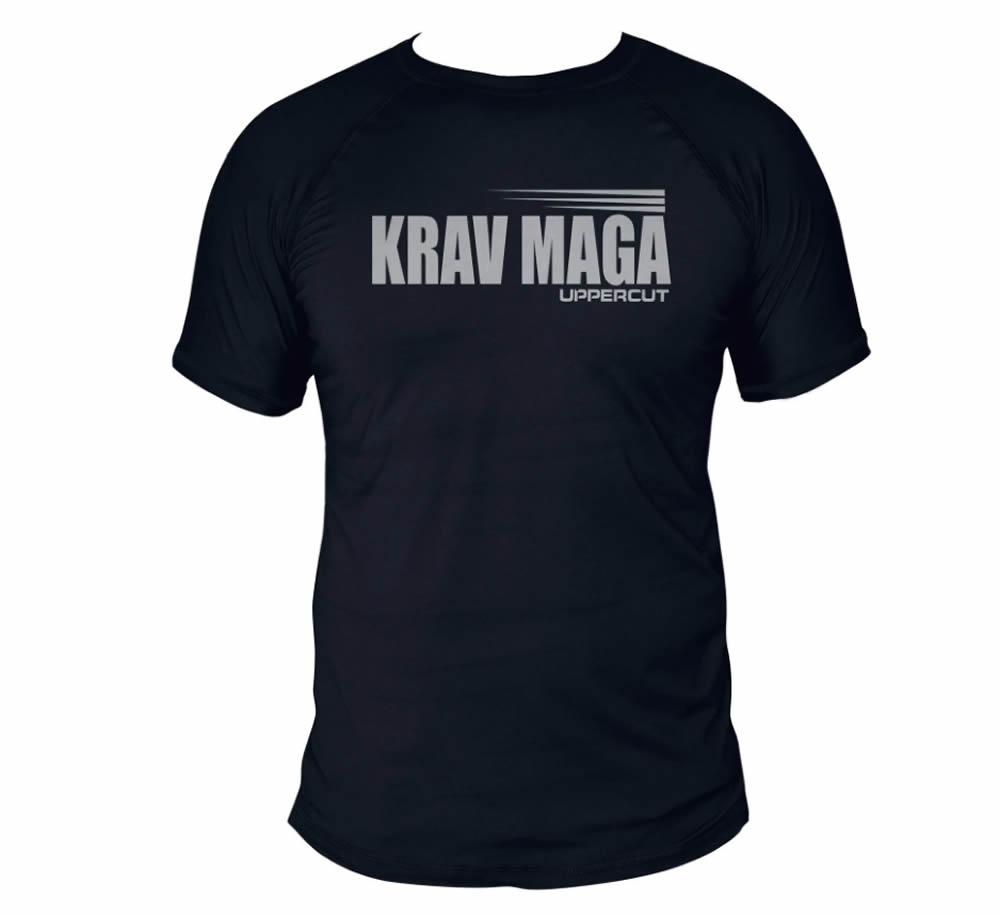 Camisa  Krav Maga HZT Dry Fit UV50+ Preta - Uppercut