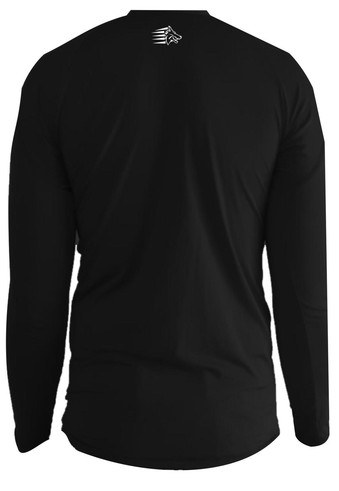 Camisa Térmica Manga Longa Masculina UV 50+  Uppercut