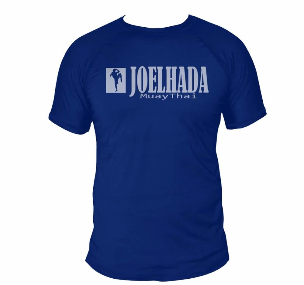 Camisa Muay Thai Joelhada Dry Fit UV50+ Azul - Uppercut