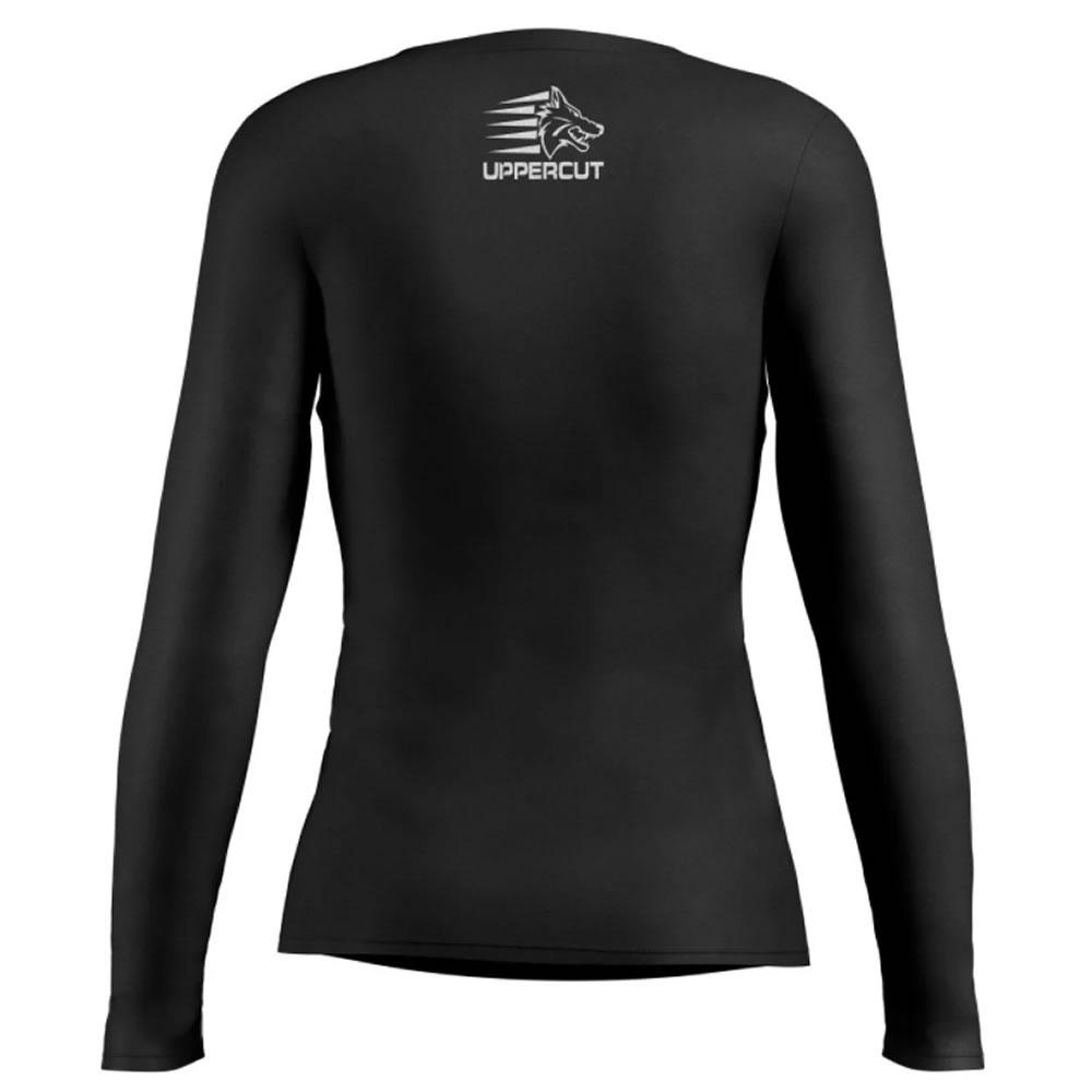 Camisa Proteção Solar ML UV50+ - Black Wolf Rs - Feminina