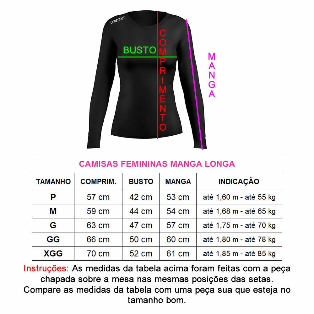 Camisa Proteção Solar UV50+ - Corrida Run Rs ML - Feminina