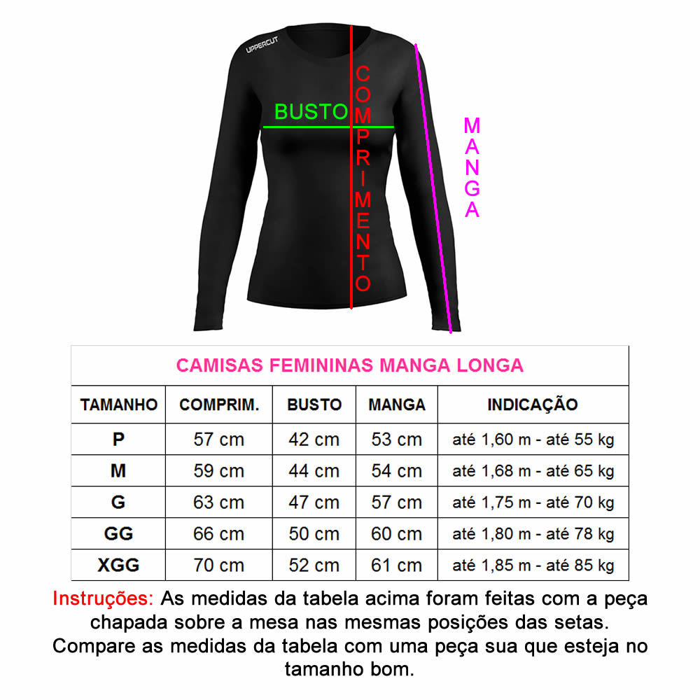 Camisa Proteção Solar UV50+ Lady Running Rs ML - Feminina