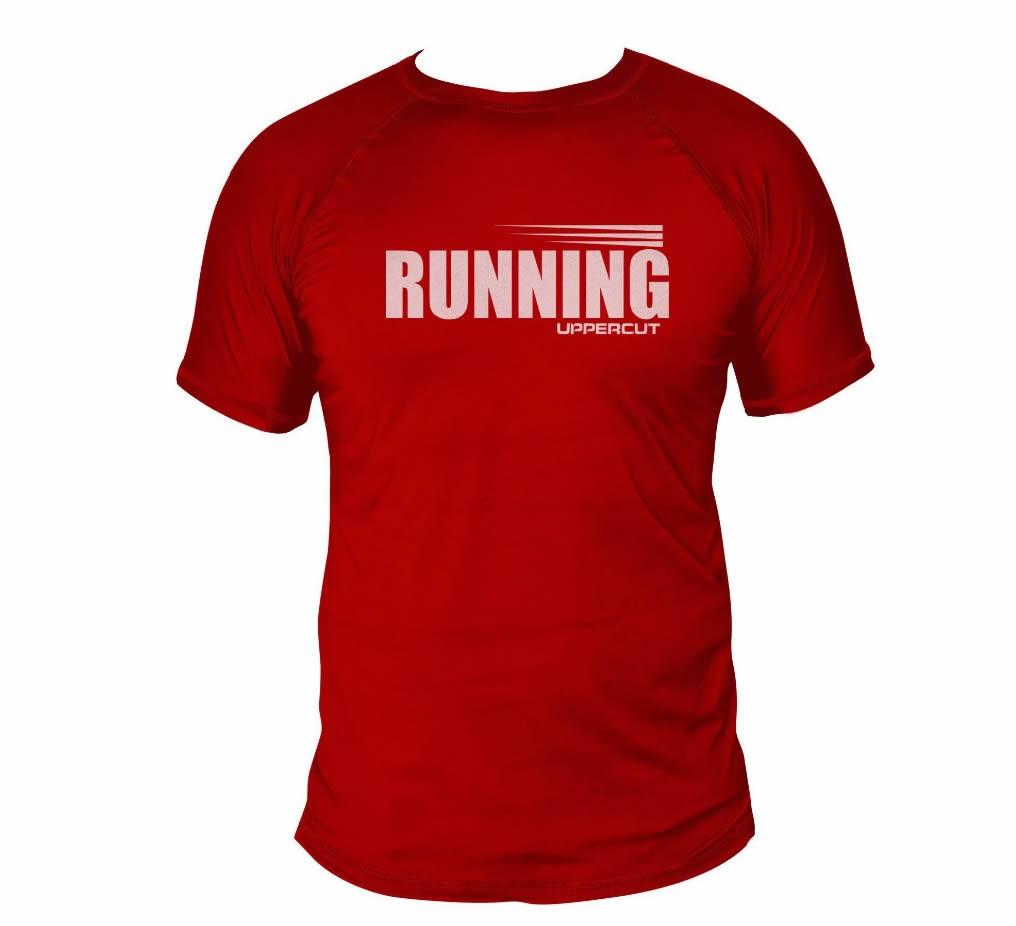 Camisa Running Corrida - Dry Fit UV50+ Vermelha - Uppercut