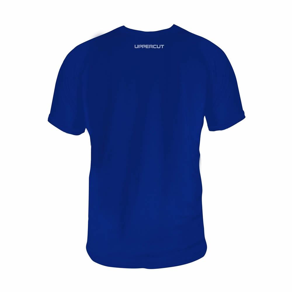 Camisa Sanda Boxe Chines Dry Fit UV50+ Azul - Uppercut