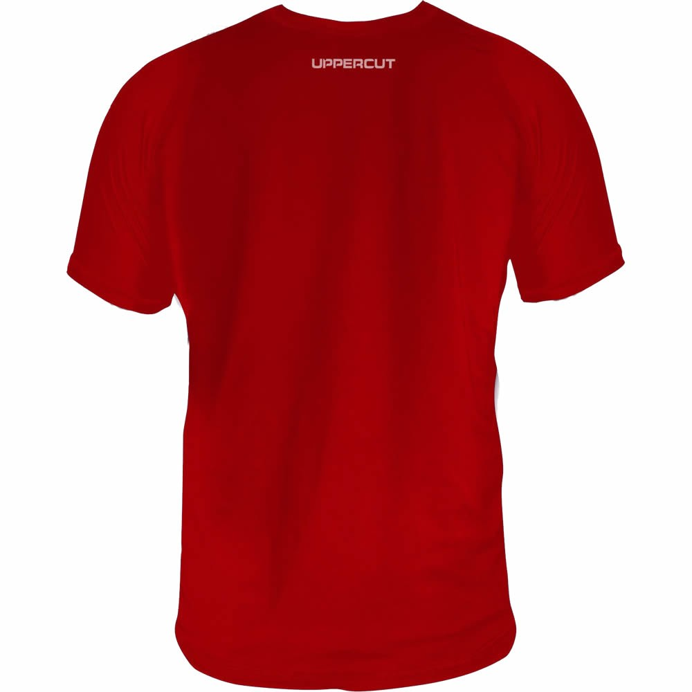 Camisa Sanda Boxe Chines Dry Fit UV50+ Vermelha - Uppercut