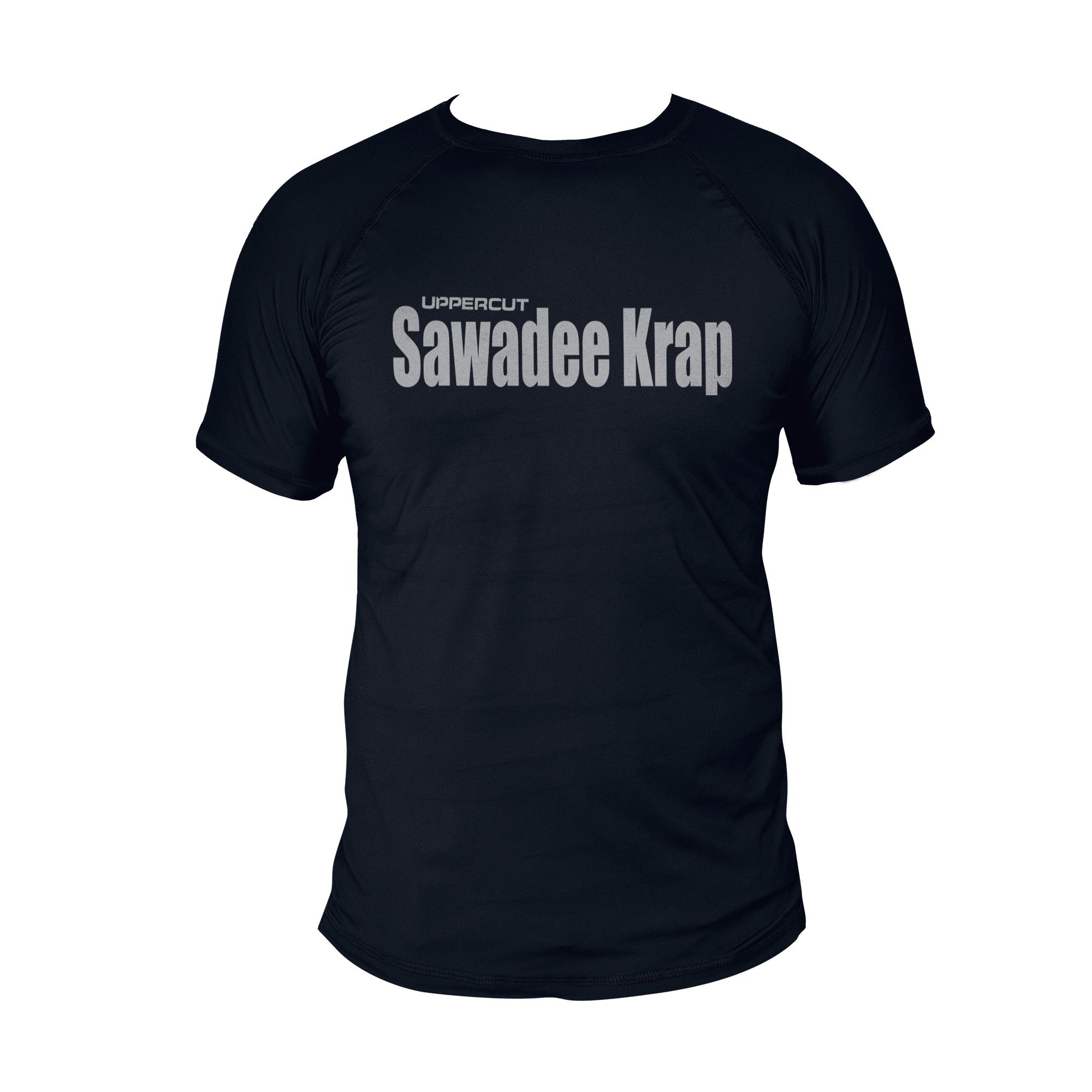 Camiseta Sawadee Krap Muay Thai U-xx - Dry Fit UV50+ Preta